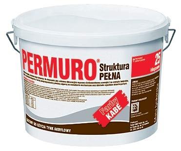 Kabe Tynk Akrylowy Permuro Struktura Baranek 25kg Sklep