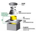Zakończenie systemu kominowego SKC Ø 200mm - wariant 3