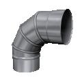 Kolano 90° skrętne kwasoodporne MKS Invest MK ŻARY Ø 120mm