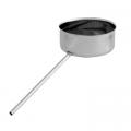 Odskraplacz żaroodporny SPIROFLEX Ø 150mm gr.1,0mm