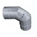 Kolano 90° z rewizją żaroodporne MKSZ Invest MK ŻARY Ø 140mm gr.0,8mm