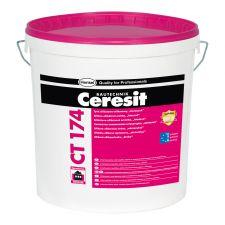 """Tynk silikatowo-silikonowy Ceresit CT 174, struktura """"kamyczkowa"""", granulacja 1,5 mm, 2 mm, 25kg"""