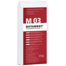 BOTAMENT M 03 Zaprawa naprawcza do betonu 25 kg