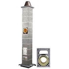 System Kominowy Ceramiczny ICOPAL WULKAN CI-eko Ø 160mm z wentylacją