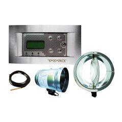 Sterownik elektroniczny RT-08P dla kominków z płaszczem wodnym