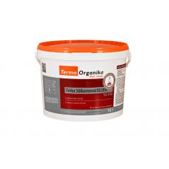 Farba silikonowa Termo Organika SILVER TO-FSS, 10 l