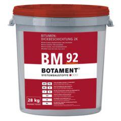 BOTAMENT BM 92 Schnell grubowarstwowa bitumiczna masa uszczelniająca, 28 kg