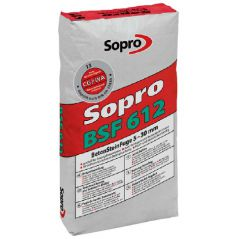 SOPRO fuga do kostki betonowej BSF kolor szary brukowy, 25 kg