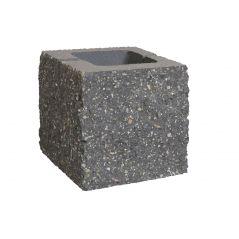 CJBLOK Pustak betonowy elewacyjny PBE-19-4 N1/2 czterostronnie łupany