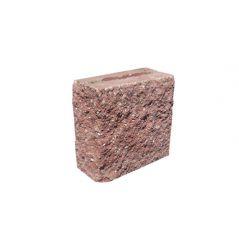 CJBLOK Pustak betonowy elewacyjny PBE-9-1  N 1/2 dwustronnie łupany