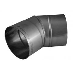 Kolano 30° KOMINUS KZS Ø 130mm gr.0,8mm