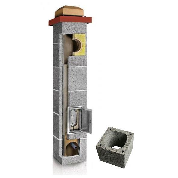 System Kominowy Ceramiczny PLEWA Uni Fu 180x180mm