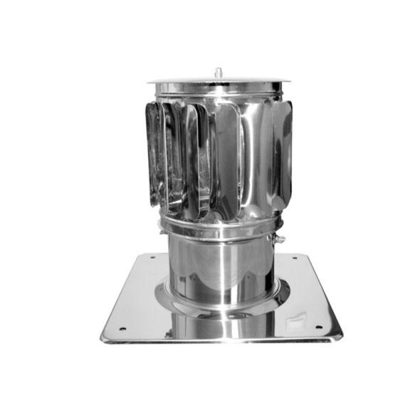 Nasada Turbomax 2 Ø 180mm z podstawą kwadratową