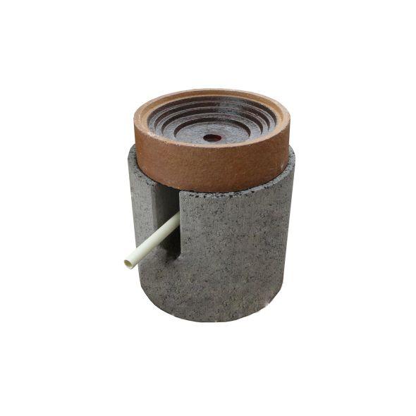 Kształtka dolna KJ 10/20 U komplet z cokołem i syfonem