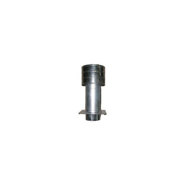 Deflektor ocynkowany z płytą 110mm