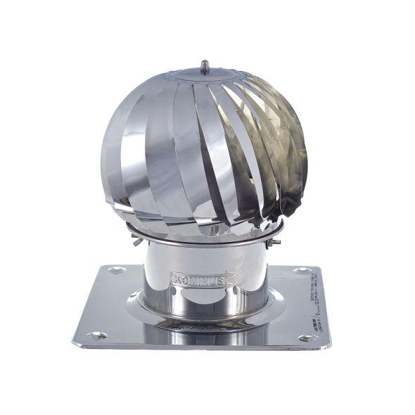 Nasada Turbomax 1 Ø 150mm z podstawą kwadratową