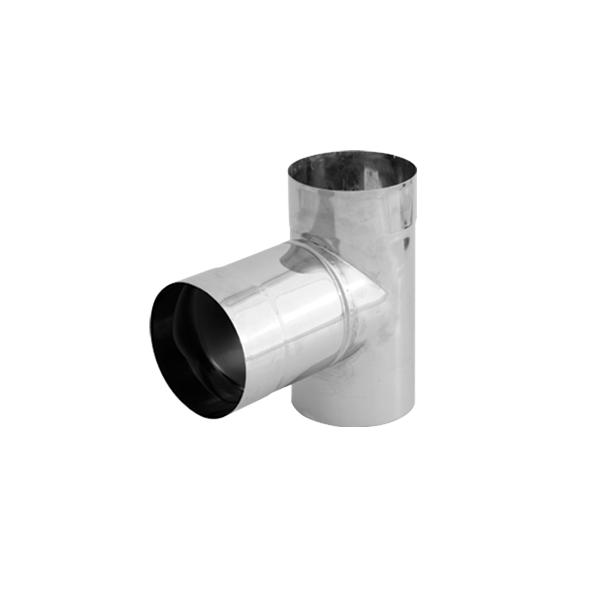 Trójnik 90° nierdzewny SPIROFLEX Ø 140mm