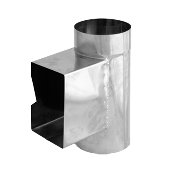 Wyczystka prostokątna nierdzewna SPIROFLEX Ø 180mm