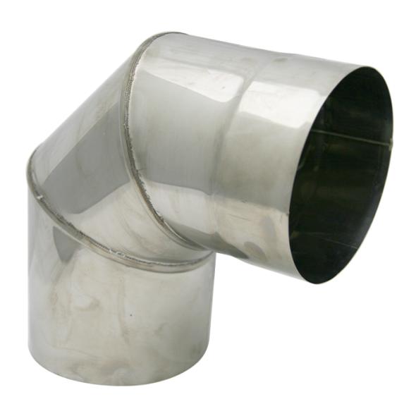 Kolano stałe 90° kwasoodporne SPIROFLEX Ø 150mm