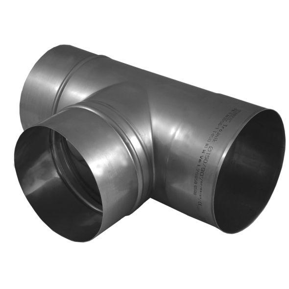 Trójnik 90° KOMINUS KZS Ø 200mm gr.0,8mm