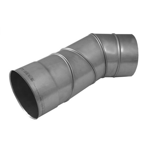 Kolano regulowane 0°-90° KOMINUS KZS Ø 200mm gr.0,8mm