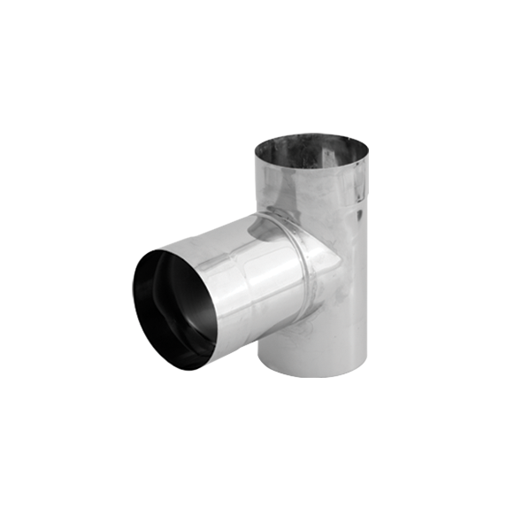 Trójnik 90° kwasoodporny SPIROFLEX Ø  80mm
