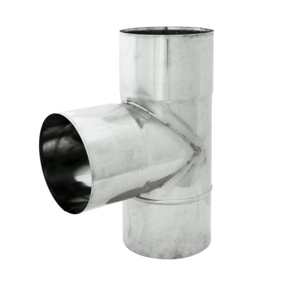 Trójnik 90° żaroodporny SPIROFLEX Ø 120mm gr.1,0mm