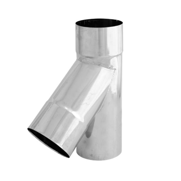 Trójnik 45° żaroodporny SPIROFLEX Ø 250mm gr.1,0mm