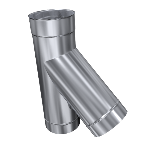 Trójnik 45° żaroodporny MKSZ Invest MK ŻARY Ø 140mm gr.0,8mm