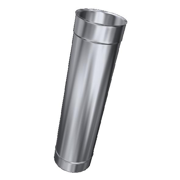 Rura prosta żaroodporna MKSZ Invest MK ŻARY Ø 200mm 1mb gr.0,8mm