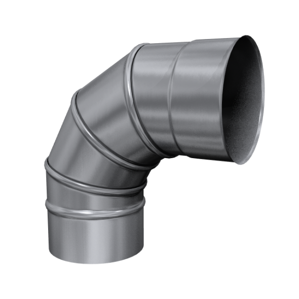 Kolano 90° skrętne żaroodporne MKSZ Invest MK ŻARY Ø 180mm gr.0,8mm